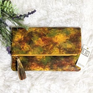 URBAN EXPRESSIONS FOLD OVER CLUTCH